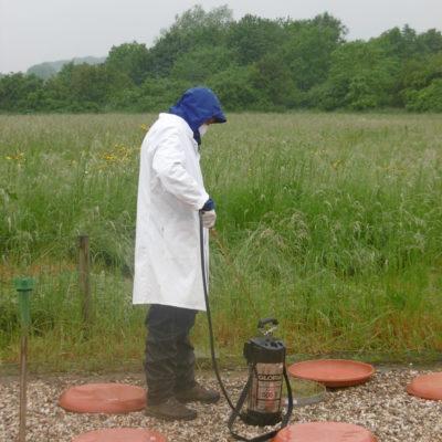 Applikation of TME Soil Core