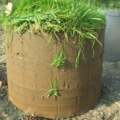 TME soil core without steel cylinder