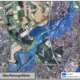 Ecological risk assessment of damage during floods
